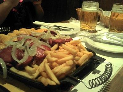 Petiscos + Cerveja!