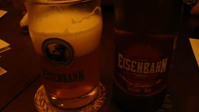 Eisenbahn Strong Golden Ale.