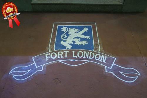Fort London na entrada.