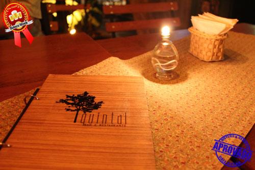 Quintal Bar e Restaurante.
