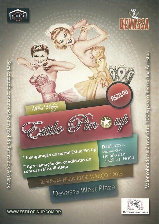 Estilo Pin Up.