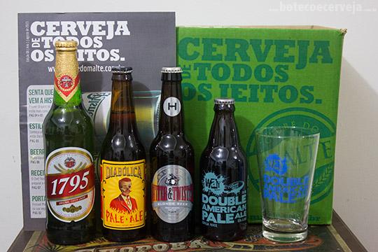 Beer Pack Clube do Malte.