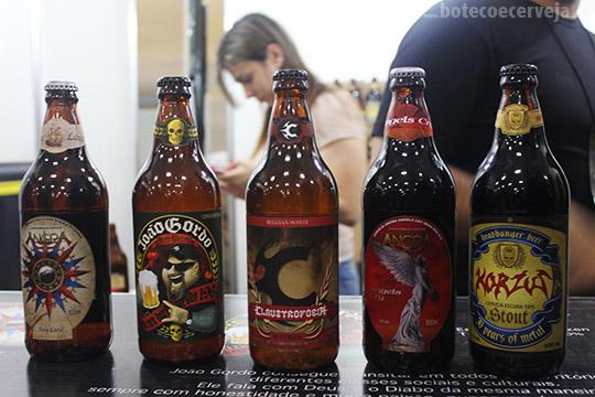 Beer Experience 2013: Cerveja João Gordo e outras de bandas.