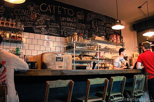 Cateto for Bar en casa rustico