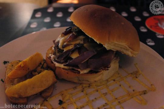 BONES Gastropub: Burger Angry Chair