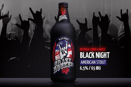 Crazy Rocker Black Night