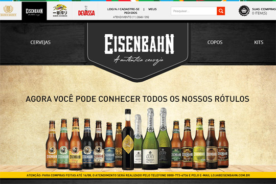 Brasil Kirin Loja Virtual