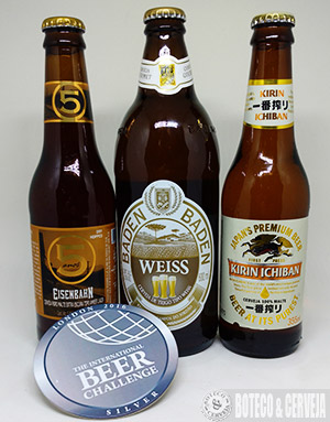 International Beer Challenge Brasil Kirin Prata