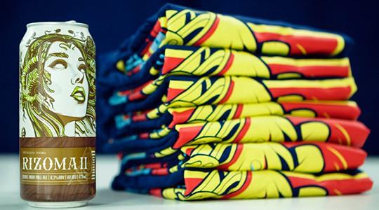 BeerFlakes Camiseta Rizoma